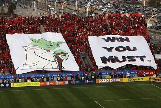 Funny Stadium Banner